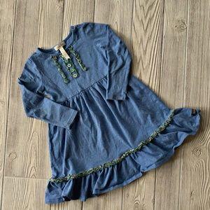Matilda Jane Blue Ruffle Detailed Dress